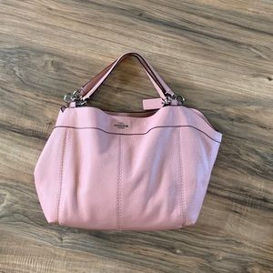 Coach Bags - Coach Light Pink Convertible crossbody handbag